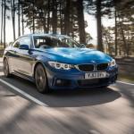 BMW 420d front 34