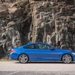 BMW 420d side