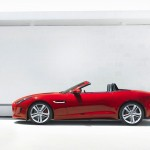 Jaguar F-type V6 side