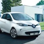 Renault Zoe front 34