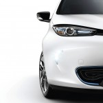 Renault Zoe front detail