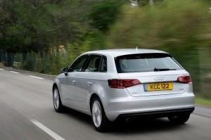 Audi A3 Sportback rear 34