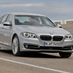 BMW 5 Series front 34