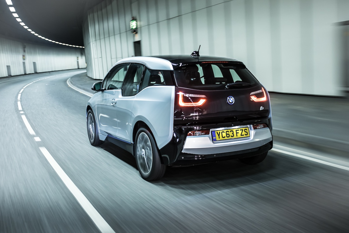 BMW i3 rear 34 dynamic