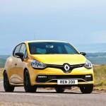 Clio Renaultsport 200 front 34