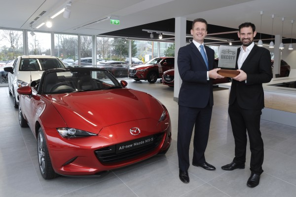 MAZDA MX-5 WINS UK CAR OF THE YEAR 2016