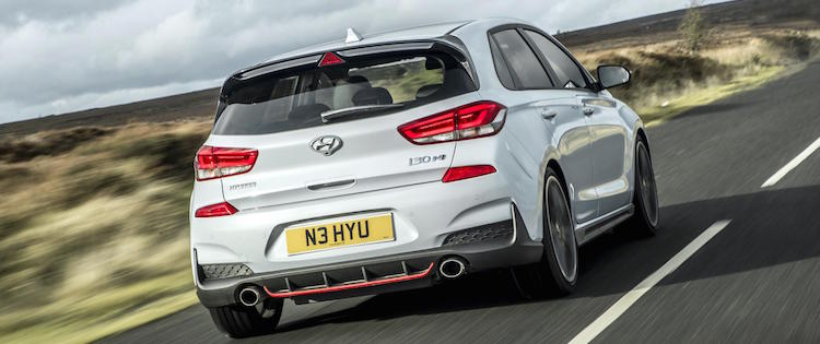 Hot Hatch i30 N SLIDE