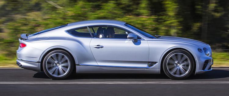 Bentley Continental SLIDE