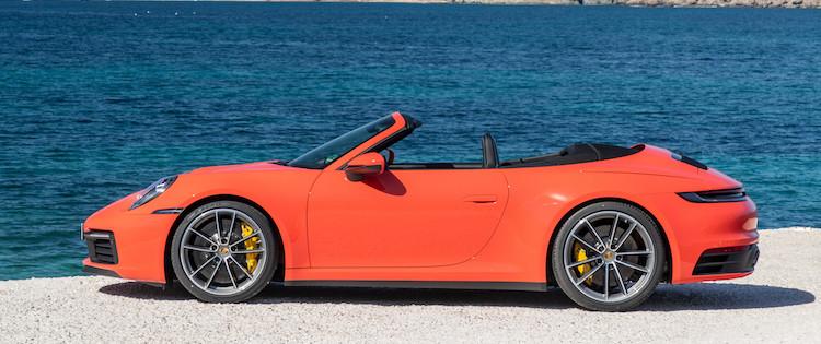 Porsche 911 slide